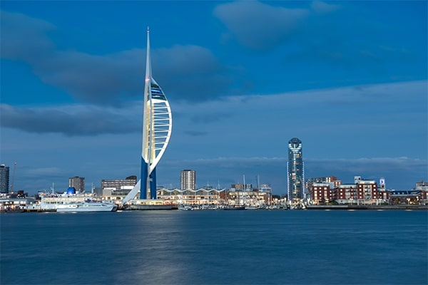 Portsmouth in UK Locations