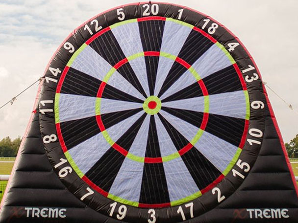 Team Building Activities in Ballseye Football Darts