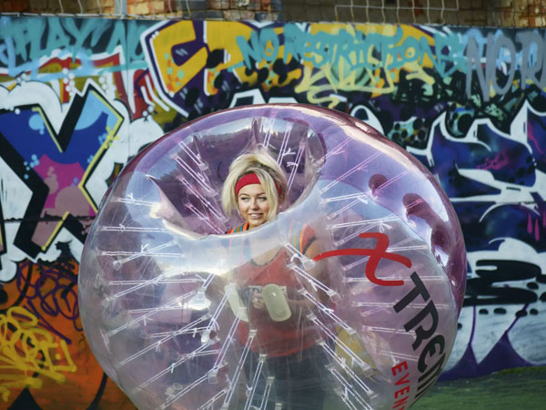 Bubble MayHEN in Bradford
