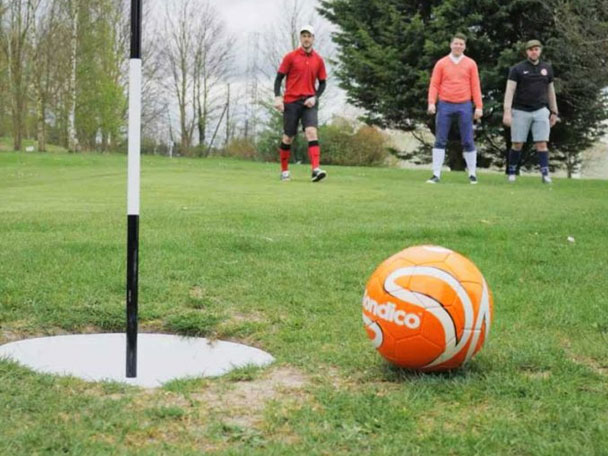 Manchester Team Building in Footgolf