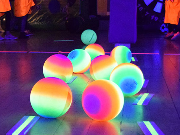 Birthday Parties in Glow Sports