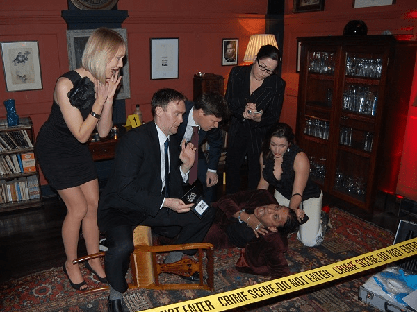 Murder Mystery in Newcastle