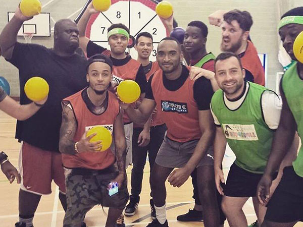 Glasgow Stag Do in Dodgeball